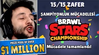 💲 1 MİLYON DOLAR için 15te 15 YAPTIM! Brawl Stars