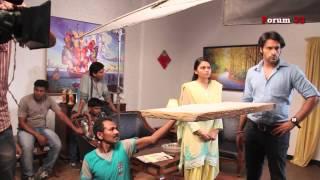 Arjun - BTS - Shaleen Malhotra in the Premonition Dreams Episode!