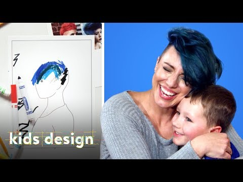 Kids Give Their Mom a Wild New Hairstyle | Kids Design | HiHo Kids thumbnail
