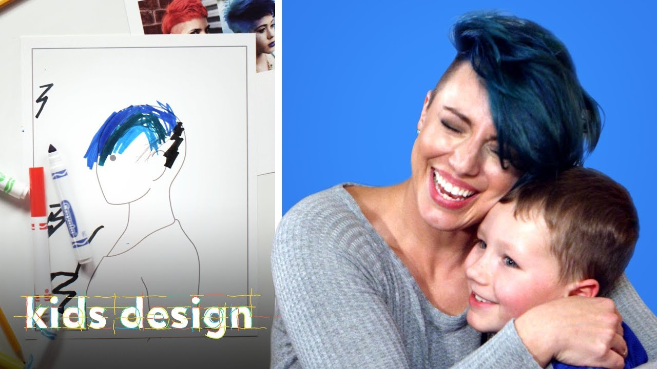 Kids Give Their Mom a Wild New Hairstyle   Kids Design   HiHo Kids