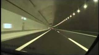 新名神高速道路 下り 信楽IC→草津田上IC 2008/02/23撮影