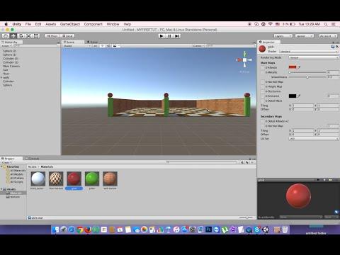 Bangla Unity 3D Game Development Tutorial 4: Design A Home part 1