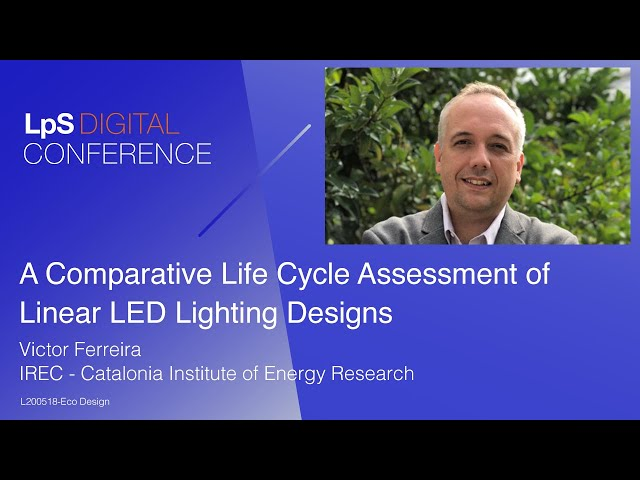 A Comparative Life Cycle Assessment of Linear Lighting Designs