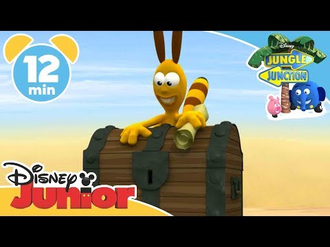Jungle Junction - Treasures of Jungle Junction | Official Disney Junior Africa