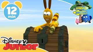 Treasures of Jungle Junction | Jungle Junction Full Episode | Disney Junior Africa