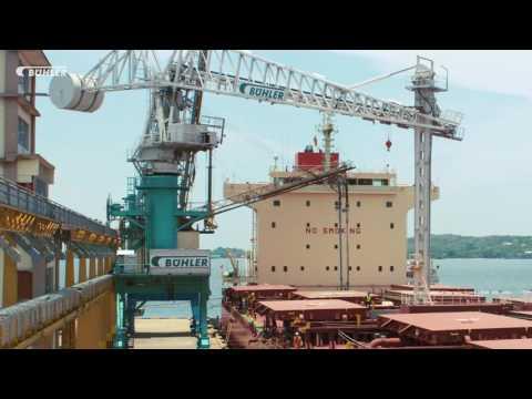 Bühler Group - Bühler Portalink high efficiency Ship unloader