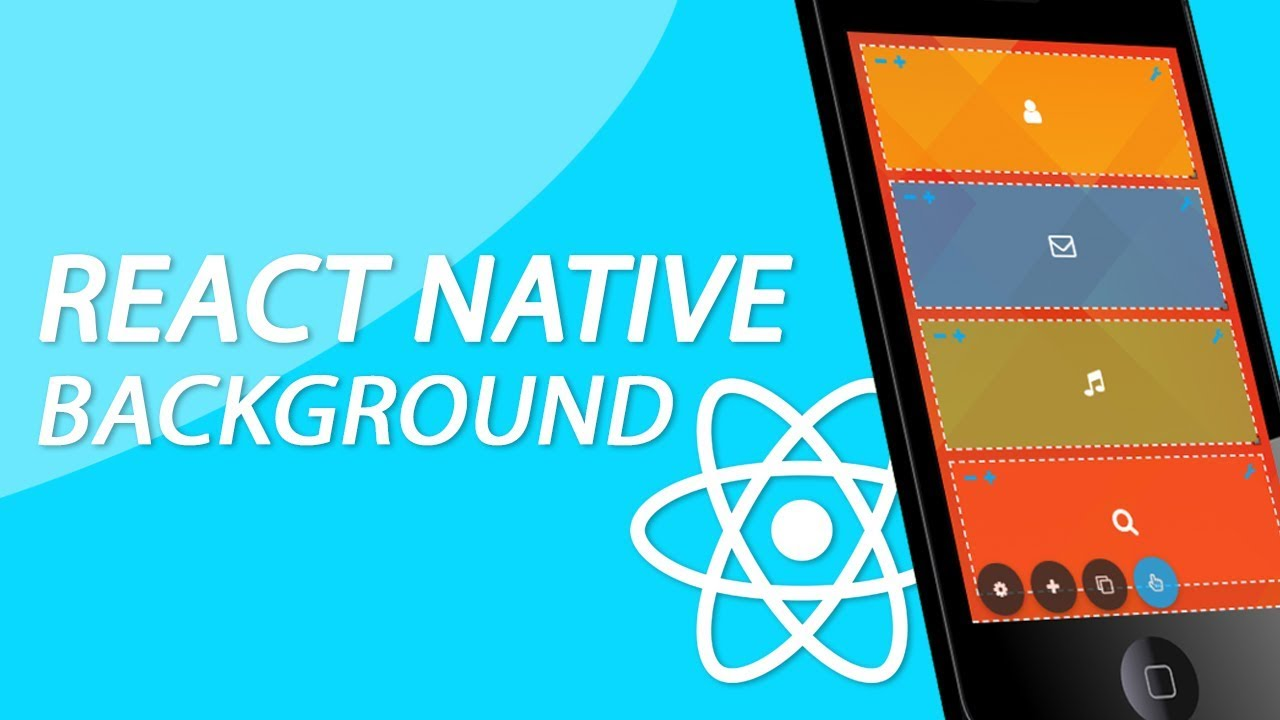 React Native Tutorial - Using A Full Screen Background Image With Color  Tint Overlay (Drag and drop)