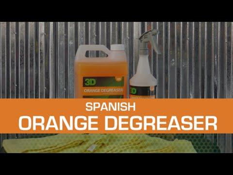 Orange Degreaser Spanish Language