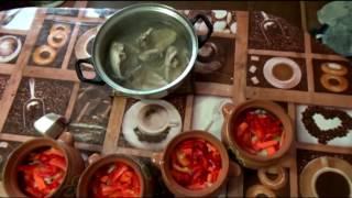 Как приготовить рябчика в горошочках