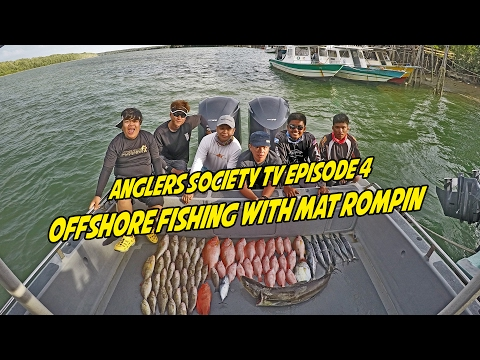 Anglers Society TV Episode 4 - Offshore Fishing with Mat Rompin
