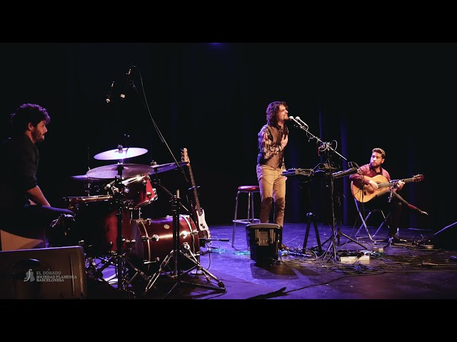 El Mati (cante), David Caro (guitarra) y Javi Rabadán (percusión) - Soleá