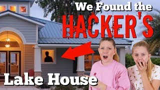 WE FOUND THE HACKERS LAKE HOUSE || Taylor and Vanessa