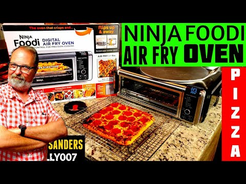 ninja-oven-digital-air-fry-toaster-|-frozen-pizza-&-chocolate-chip-cookies-review-test