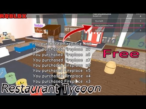 Roblox Restaurant Tycoon Free Money And Stuff Hack 2019