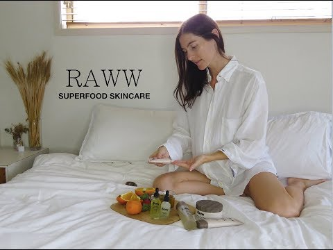 First Impression | Raww Cosmetics Superfood Skincare