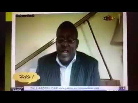 """Dr. Nicolas Santos Discuss """"SUICIDE AS A MENTAL ILLNESS ON CAMEROON RADIO TELEVISION"""""""