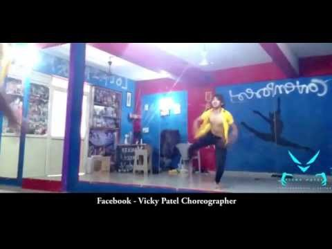 Lyrical Contemporary Dance On Hindi Song  - Vicky Patel