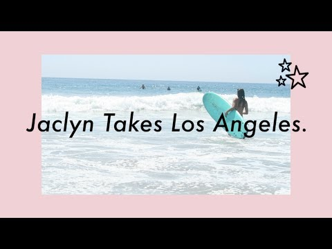 GLOSSIER SENT ME ON VACATION 🌴Surfing for the first time in Malibu!