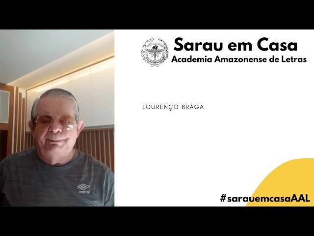 Sarau em Casa - Lourenço Braga