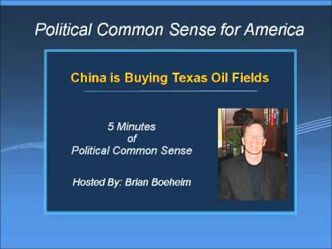 China Buying Texas Oil Fields