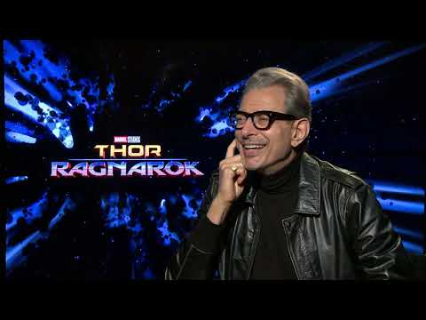 Jeff Goldblum Thor Ragnarock Full interview