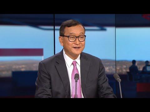 "Sam Rainsy : ""Un coup d'État institutionnel a eu lieu au Cambodge"""