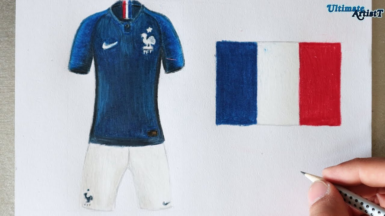33b91685bda Nike France 2018 World Cup Kit Art Youtube