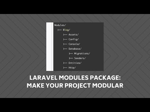 Laravel Modules Package: Review and Demo-Project