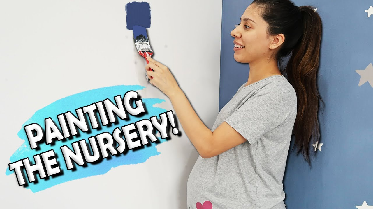 PAINTING THE NURSERY (and HUGE BABY HAUL)!