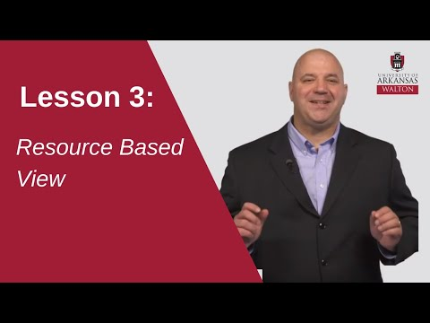 Resource Based View   SCMT 4653