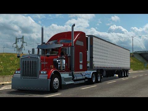 ATS San Diego - Las Vegas /Kenworth W900 /- Teszt