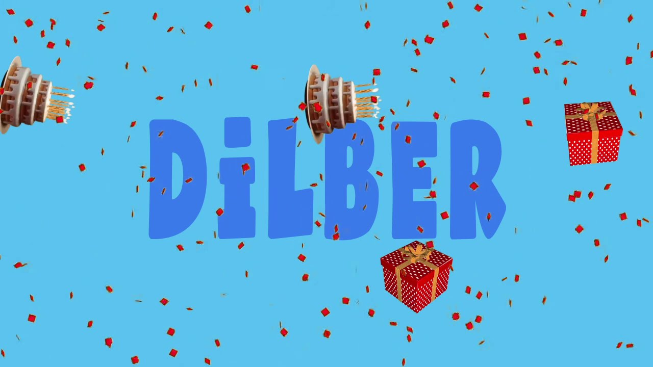 İyi ki doğdun DİLBER - İsme Özel Ankara Havası Doğum Günü Şarkısı (FULL VERSİYON) (REKLAMSIZ)