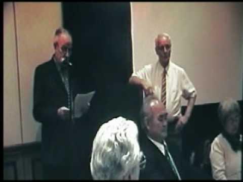 TK Chiba Shihan Aikido 40th Celebration ~ Henry Ellis Sensei speech.