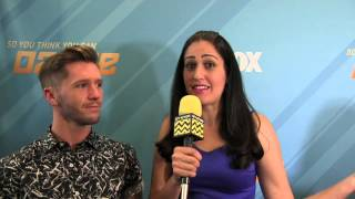 Travis Wall @ SYTYCD | Afterbuzz TV Interview