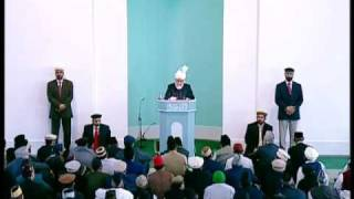 Friday Sermon : 2nd October 2009 - Part 4 (Urdu)