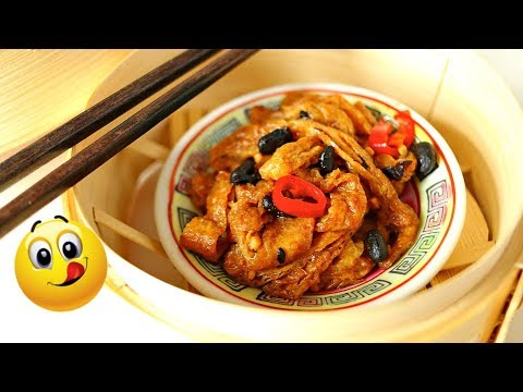 VEGAN DIM SUM -  STEAMED CHICKEN FEET!! (PHOENIX CLAWS!!) 素食鳯爪