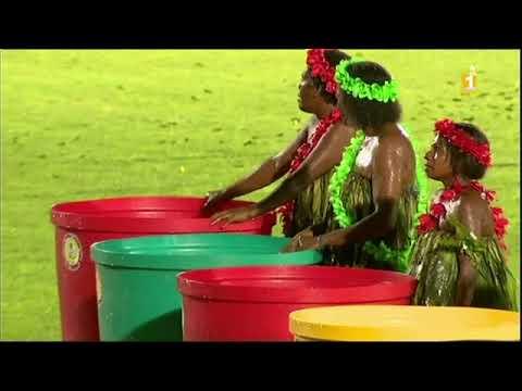 Cérémonie d'ouverture des mini-jeux du pacifique Vanuatu 2017