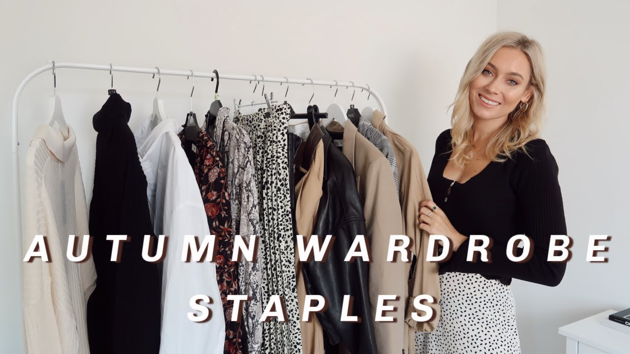 12 AUTUMN WARDROBE STAPLES! | Fall Closet Essentials | Charlotte Beer