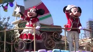 東京ディズニーランド ディズニー・クリスマス・ストーリーズ2019(スニーク初回)