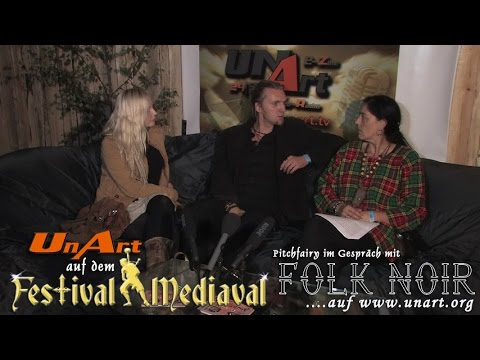 UnArt Live TV - Interview Folk Noir, Festival Mediaval Selb 2014