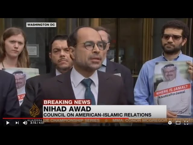 Video: CAIR Director Joins Rep. Connolly at DC Event to Demand Answers About Jamal Khashoggi