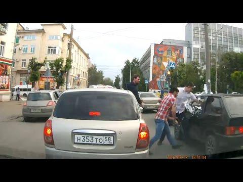 """Драки и Аварии Пензенская область, Кузнецк 2017 """"ACH"""""""