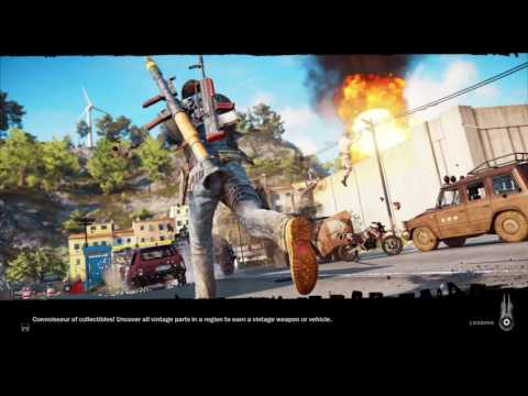 Just Cause 3 SKY FORTRESS DLC|eDEN's air fortress |