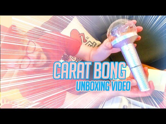 Mikey's Cart Bong SEVENTEEN Official Lightstick Ver 2 Unboxing Video