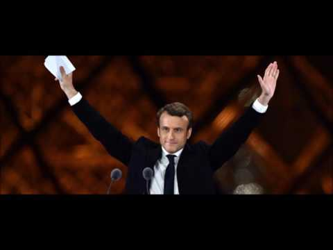 Macron will be the youngest president in France when he takes over.