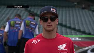 Hows Roczen Feeling - Race Day LIVE 2018 - First Round in Anaheim