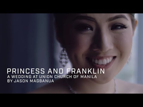 Princess and Franklin: A Wedding at Union Church of Manila, Makati