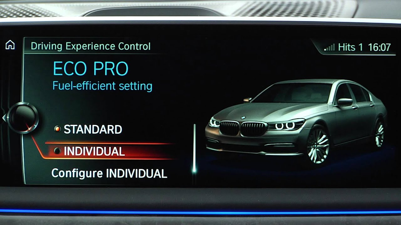BMW 5 Series: Driving Experience Switch