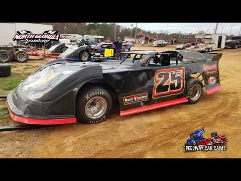 #25 David Harwood - Sportsman - 11-11-17 North Georgia Speedway - In Car Camera