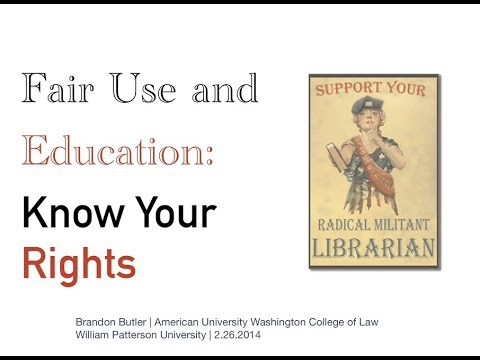 Fair Use and Education: Know Your Rights